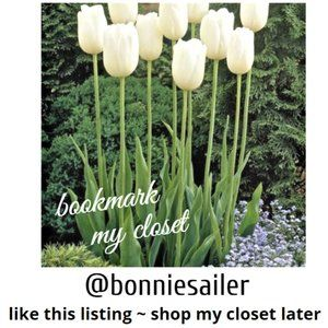 LIKE this listing to Book Mark my Closet!
